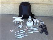 DJI Phantom 4 Quadcopter - with Extra Battery, Light Kit, Backpack